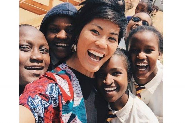 林美好為自己也為非洲女孩譜出非凡一頁