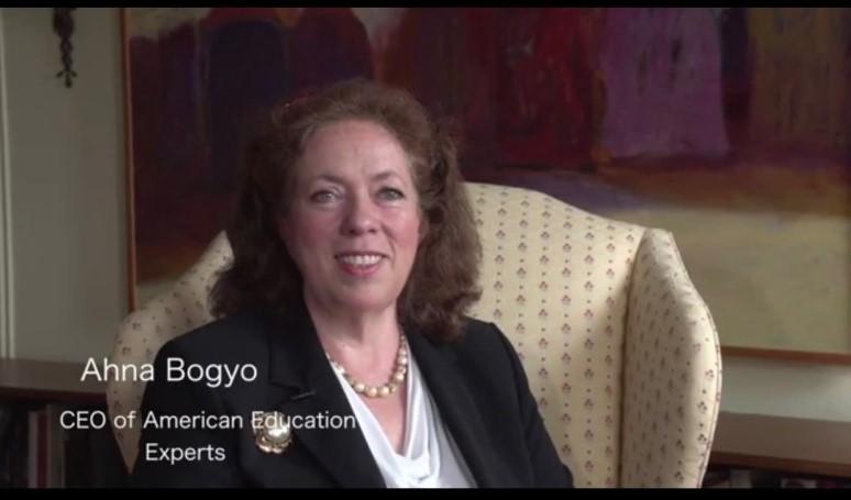 麥當勞線上教育研討會講師Ahna Bogyo。(Ahna Bogyo提供)