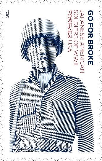 6 月 3 日發行的郵票是首套以亞裔美籍士兵形象製作的郵票 — 15 年的郵票發行之旅終於成真