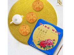 榮華首創的雙黃白蓮蓉月餅:蓮蓉幼滑,蛋黃飽和油潤,市場已多處斷貨,要買要快